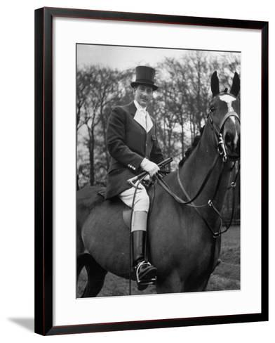 Fox Hunting, England--Framed Art Print