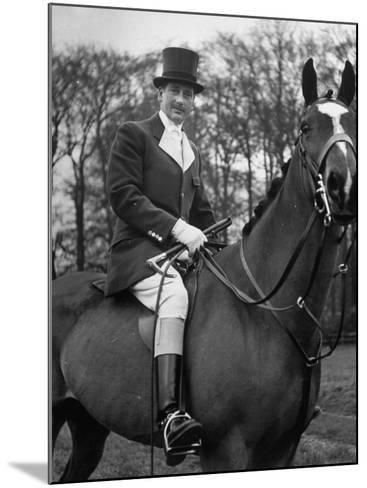 Fox Hunting, England--Mounted Photographic Print