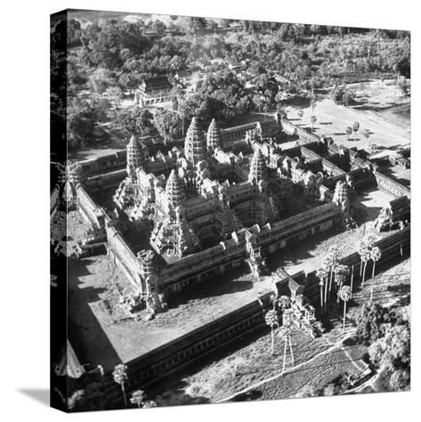 Angkor Wat, the Great Ancient Buddhist Temple of the Khmers--Stretched Canvas Print