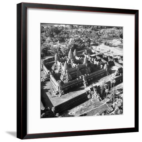 Angkor Wat, the Great Ancient Buddhist Temple of the Khmers--Framed Art Print