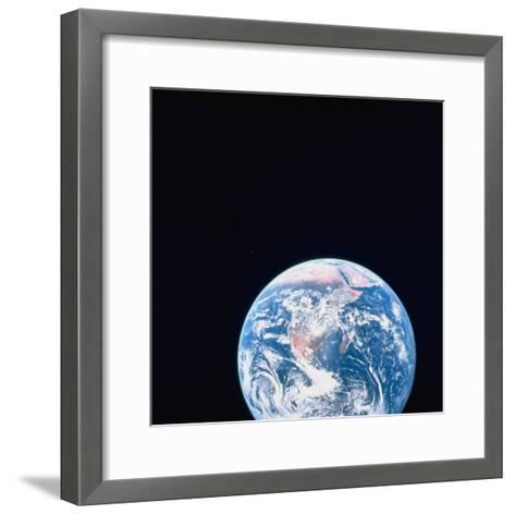 Earth Viewed from Deep Space--Framed Art Print