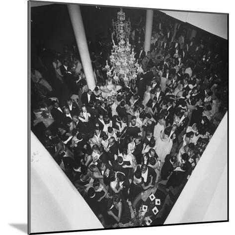 People Dancing at a Party for the Manizales Fair--Mounted Photographic Print