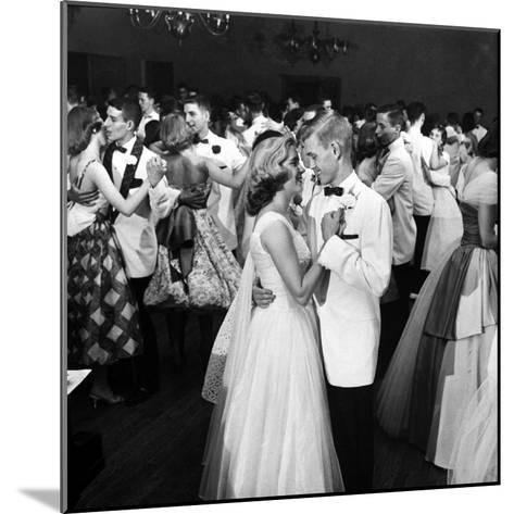 Students Dancing at the Mariemont High School Prom--Mounted Photographic Print