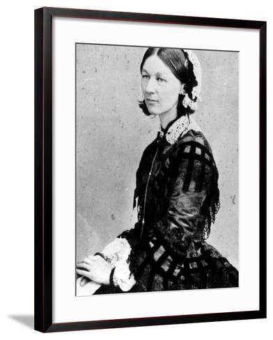 Portrait of Nurse Florence Nightingale--Framed Art Print