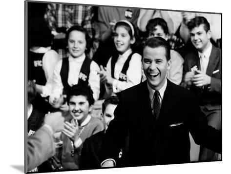 """American Bandstand"" Host Dick Clark--Mounted Premium Photographic Print"