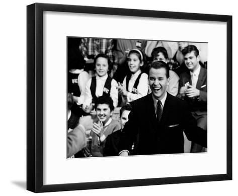 """American Bandstand"" Host Dick Clark--Framed Art Print"