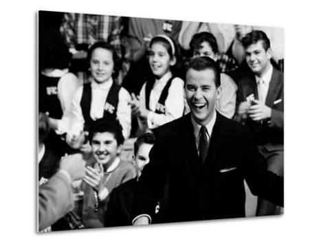 """American Bandstand"" Host Dick Clark--Metal Print"