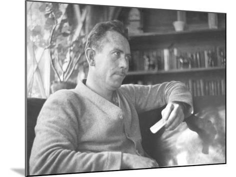 Author John Steinbeck-Peter Stackpole-Mounted Premium Photographic Print
