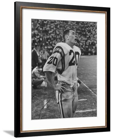 Lsu All American Halfback Billy Cannon No.20--Framed Art Print