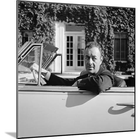 William Levitt, Builder Responsible for the Long Island Suburban Community Levittown--Mounted Premium Photographic Print