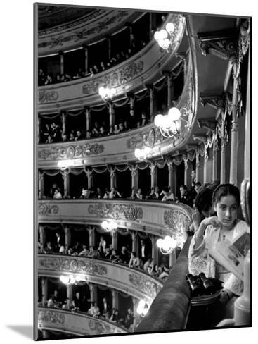 Audience in Elegant Boxes at La Scala Opera House-Alfred Eisenstaedt-Mounted Photographic Print