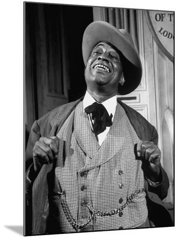 """Kingfish Tim Moore, Putting on the Charm in the TV Series """"Amos 'N' Andy""""-Loomis Dean-Mounted Premium Photographic Print"""