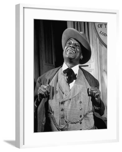"""Kingfish Tim Moore, Putting on the Charm in the TV Series """"Amos 'N' Andy""""-Loomis Dean-Framed Art Print"""