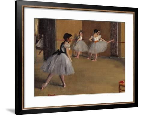 Sheaves - Late Summer, Morning Effect (Les Meules, Summer End in Giverny)-Demetrio Cosola-Framed Art Print