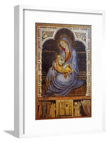 Madonna of Humility-Felice Giani-Framed Art Print