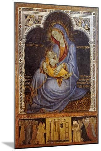 Madonna of Humility-Felice Giani-Mounted Giclee Print