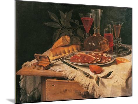 An Elegant Snack--Mounted Giclee Print