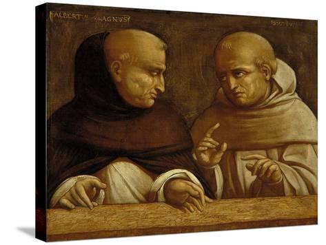 Albert the Great and Giovanni Duns Scotus-Bernardo Bellotto-Stretched Canvas Print