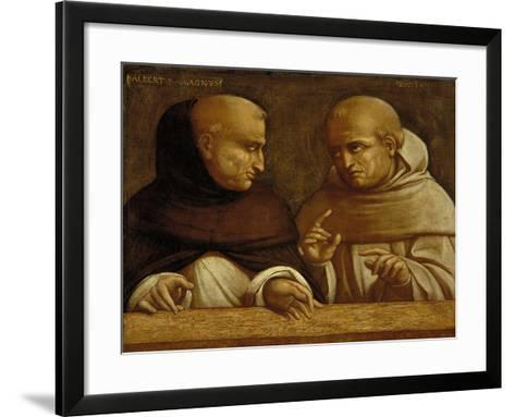 Albert the Great and Giovanni Duns Scotus-Bernardo Bellotto-Framed Art Print