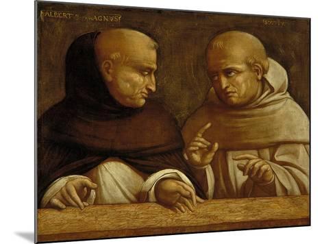 Albert the Great and Giovanni Duns Scotus-Bernardo Bellotto-Mounted Giclee Print