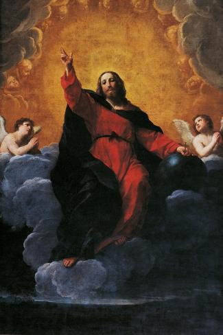 The Savior-Giovanni Battista Moroni-Stretched Canvas Print