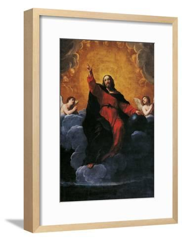 The Savior-Giovanni Battista Moroni-Framed Art Print