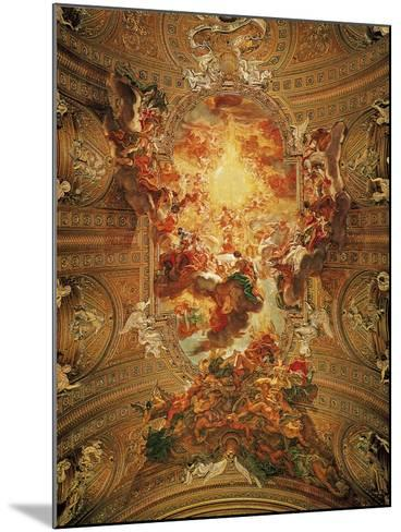 Triumph of the Name of Jesus-Il Baciccio-Mounted Giclee Print