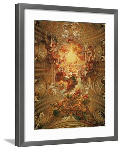 Triumph of the Name of Jesus-Il Baciccio-Framed Art Print
