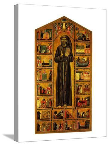 St Francis and Stories of His Life--Stretched Canvas Print