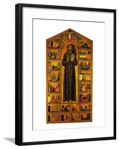 St Francis and Stories of His Life--Framed Art Print