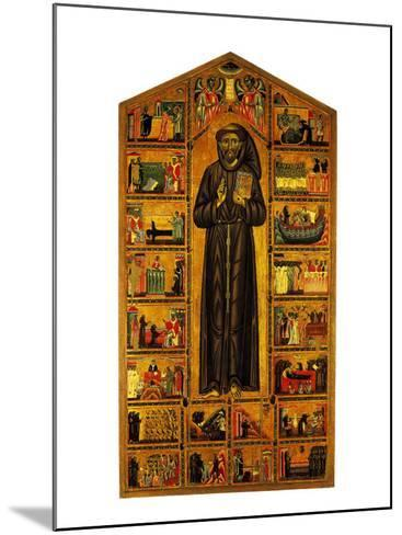St Francis and Stories of His Life--Mounted Giclee Print