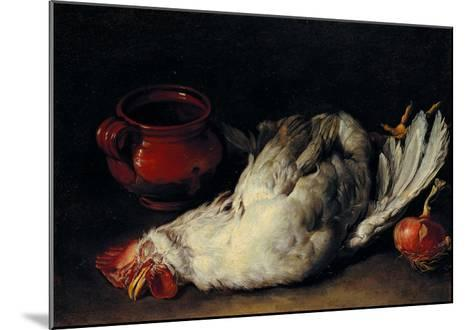 Still Life with Hen, Onion and Pot--Mounted Giclee Print