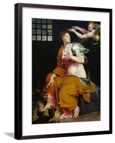 St Margaret-Lorenzo Viani-Framed Art Print