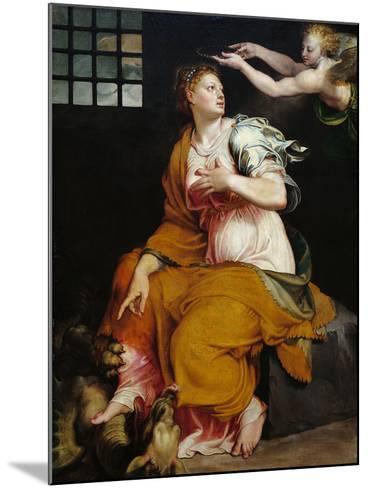 St Margaret-Lorenzo Viani-Mounted Giclee Print