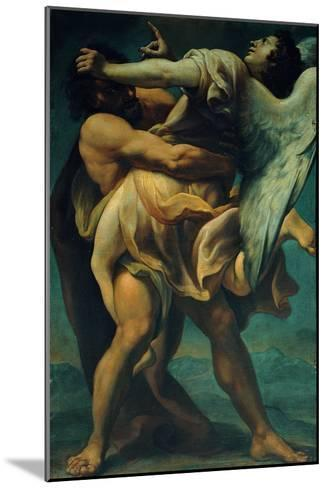 Jacob Struggles with the Angel--Mounted Giclee Print
