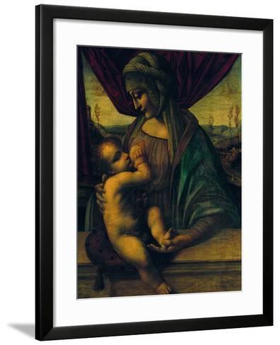 Madonna Nursing the Child--Framed Art Print