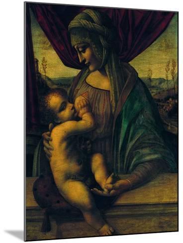 Madonna Nursing the Child--Mounted Giclee Print