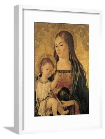 Madonna with Child--Framed Art Print