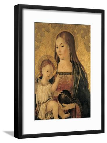 Madonna with Child--Framed Art Print