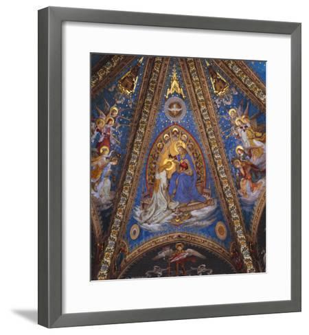 The Coronation of the Virgin Mary--Framed Art Print