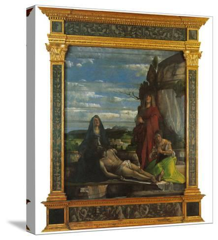 Pieta (Mourning over the Dead Christ)--Stretched Canvas Print