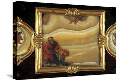 Sacrifice of Isaac-Giovanni Battista Crespi-Stretched Canvas Print