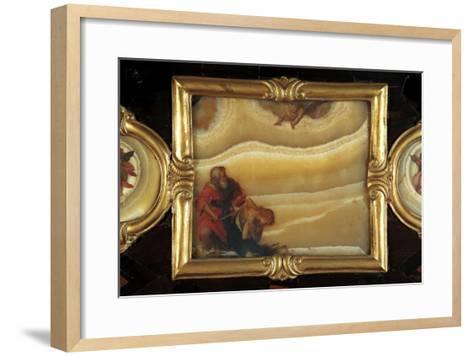 Sacrifice of Isaac-Giovanni Battista Crespi-Framed Art Print