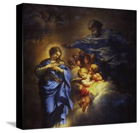 The Immaculate Conception-Umberto Veruda-Stretched Canvas Print