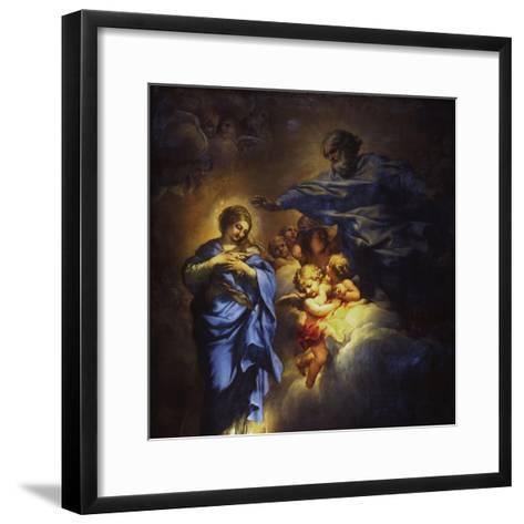 The Immaculate Conception-Umberto Veruda-Framed Art Print