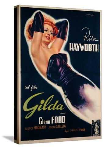 """Film Poster for """"Gilda""""--Stretched Canvas Print"""