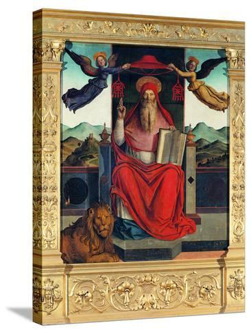 St Jerome at Pulpit--Stretched Canvas Print