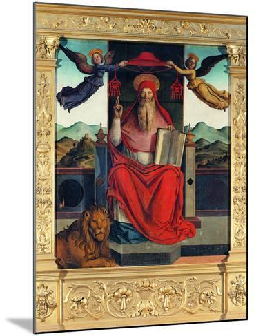 St Jerome at Pulpit--Mounted Giclee Print