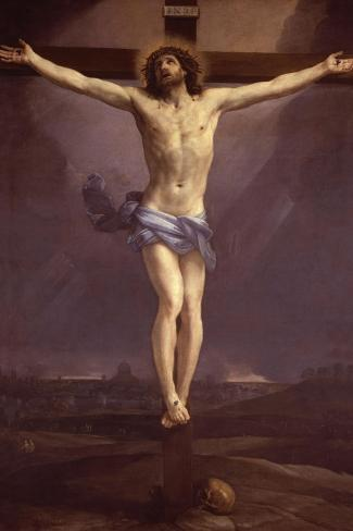 The Crucifixion--Stretched Canvas Print