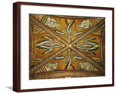 Seraphs and Angels. Mosaic of the Presbytery--Framed Art Print